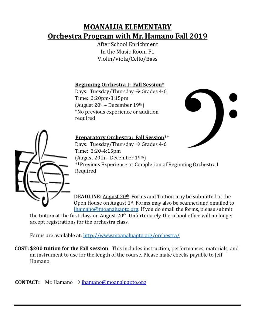 Moanalua Strings Flyer Updated