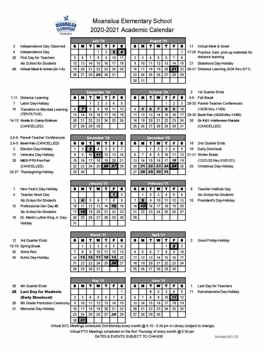 Academic Calendar SY2020-21_FINAL UPDATED 8-11-20